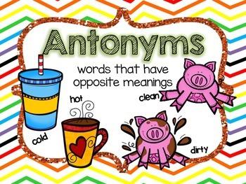 Synonym and Antonym Station Work