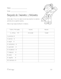 Synonym and Antonym Worksheet *Bilingual*
