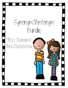 Synonym/Antonym Bundle