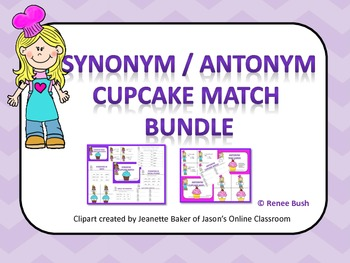 Synonym/Antonym Bundle Pack