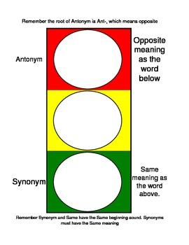 Synonym&AntonymStopLightActivity