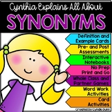 Explain It All: Cynthia Explains All About Synonyms