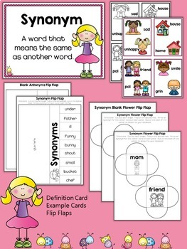 Synonyms Activities
