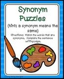 Synonyms Worksheet | Synonyms Center