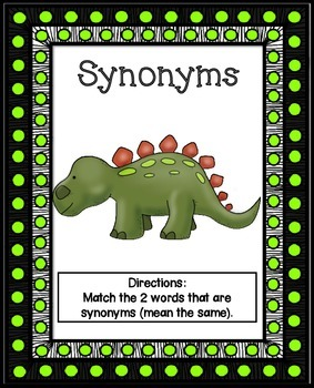 Synonyms Literacy Center