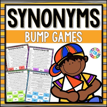 Synonyms Activities: 12 Synonyms Games (Uses Context Clues)