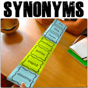 Synonyms Activities - 11 activities