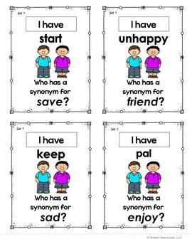 Synonyms Set 1