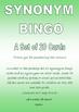 Synonyms Bingo