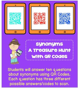 Synonyms- A Treasure Hunt with QR Codes
