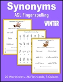 Synonyms (ASL Fingerspelling) - Winter