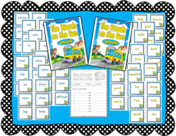 Synonyms & Antonym Center: The Words on the Bus