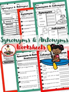 Synonyms & Antonyms:  Mini-Lesson