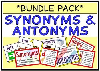 Synonyms & Antonyms (BUNDLE PACK)