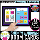 Synonyms & Antonyms | Grammar | Boom Cards™ - Distance Learning