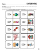 Synonyms & Antonyms Flip-It Activity (lapbook or worksheet