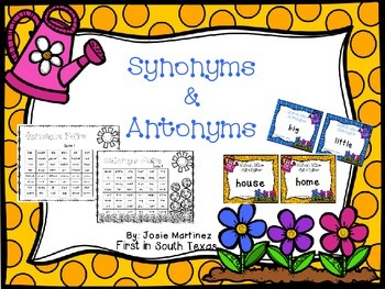 Synonyms & Antonyms Games
