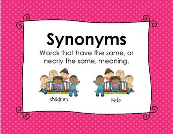 Synonyms~Antonyms~Homophones Kit