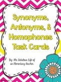 Synonyms, Antonyms, & Homophones