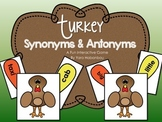 Thanksgiving Synonyms & Antonyms Interactive Center {Build