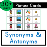 Synonyms & Antonyms - Picture Cards