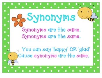 Synonyms & Antonyms Printab... by Chrissy Beltran | Teachers Pay ...