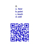 Synonyms & Antonyms QR Code Challenge #1 3rd, 4th, 5th grade