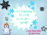 Synonyms, Antonyms, Writing and Dictionary Winter Skills FREEBIE!