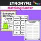 Synonyms and Antonyms Centers