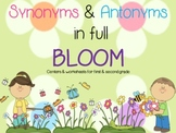 Synonyms & Antonyms in full Bloom