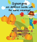 Synonyms - Autumn Pack