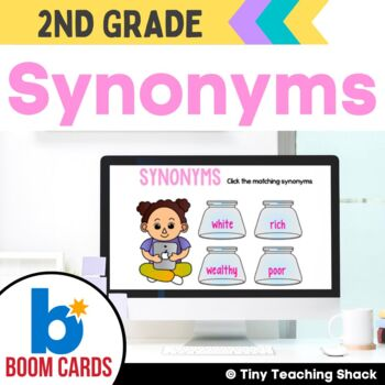 Synonyms Boom Cards