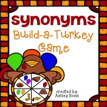 Synonyms: Build A Turkey Game