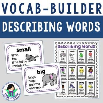 Synonyms - Describing Words