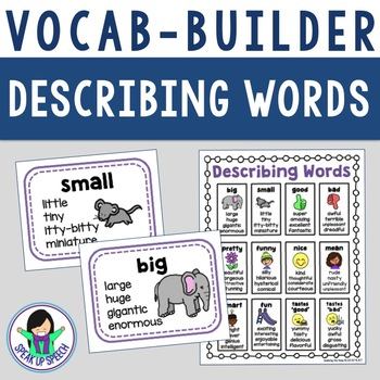 Vocabulary Builder - Describing Words