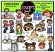 Synonyms Clip Art Bundle {Educlips Clipart}