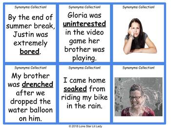 Synonyms Collection Game - Set 1