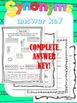 Synonyms - Complete Study Unit -BUNDLE