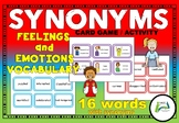 Synonyms - Feelings and Emotions Vocabulary