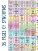 Synonyms Flipbook Words to Use Instead of...