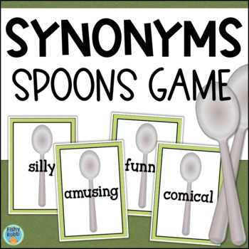 Synonyms Game - Spoons
