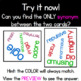 Synonyms Game Pair Stare Upper Grades Word Work