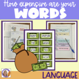 Synonyms: How expensive are your words?