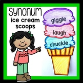 Synonyms Ice Cream Scoop Activity for Kids