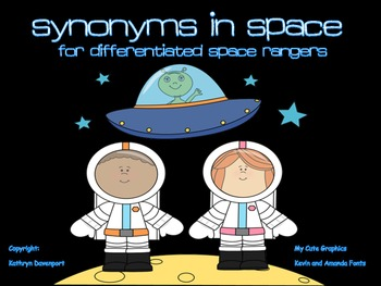 Synonyms In Space- For Differentiated Space Rangers