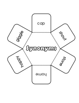Synonyms Interactive Notebook