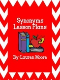 Synonyms Lesson Plans (5 Days)
