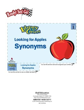 Synonyms--Looking for Apples Literacy Center (eLesson)