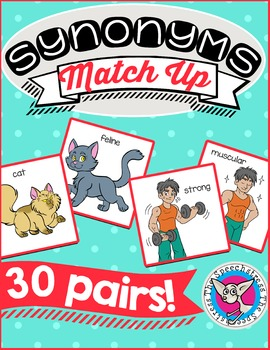 Synonyms Match Up!
