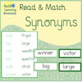 Synonyms - Montessori Word Study